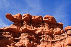 Formación de roca en valle del duende Fotografía de archivo