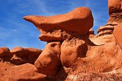 Formación de roca en valle del duende Foto de archivo