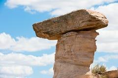 Formación de roca erosionada Imagen de archivo