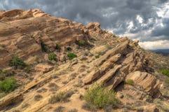 Formación de roca espectacular en las rocas de Vázquez Foto de archivo libre de regalías
