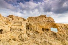 Formación de roca extraña Fotografía de archivo
