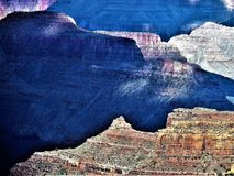 Formación de roca Grand Canyon imagen de archivo