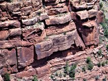 Formación de roca Grand Canyon imagen de archivo libre de regalías
