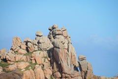Formación de roca hermosa fotografía de archivo libre de regalías