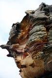 Formación de roca natural fotos de archivo