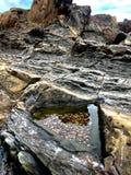 Formación de roca natural Imágenes de archivo libres de regalías
