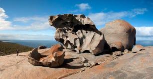 Formación de roca notable Fotos de archivo libres de regalías