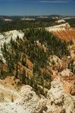 Formación de roca roja en el parque de la barranca del bryce, Utah Imagenes de archivo