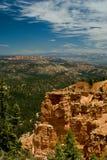 Formación de roca roja en el parque de la barranca del bryce, Utah Foto de archivo