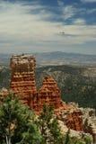 Formación de roca roja en el parque de la barranca del bryce, Utah Foto de archivo libre de regalías