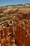Formación de roca roja en el parque de la barranca del bryce, Utah Fotos de archivo