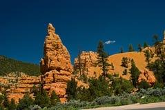 Formación de roca roja en Utah Imágenes de archivo libres de regalías