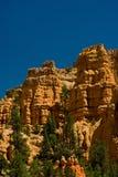 Formación de roca roja en Utah Imagenes de archivo