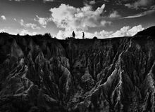 Formación de rocas de Algarve Imagen de archivo libre de regalías