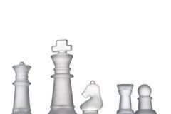 Formación del ajedrez imágenes de archivo libres de regalías
