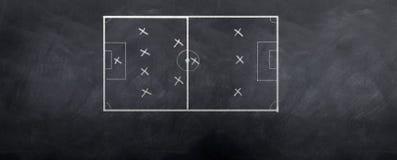 Formación del fútbol Fotografía de archivo