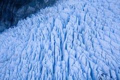 Formación del glaciar Imágenes de archivo libres de regalías