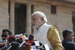 Formación del gobierno indio 2014 Imágenes de archivo libres de regalías