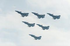 Formación del vuelo Imagenes de archivo
