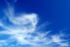 Formación hermosa de la nube Fotos de archivo