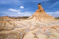 Formación natural Castilldetierra Imagen de archivo