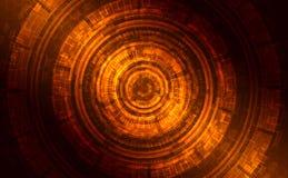 Formación técnica brillante oscura abstracta Imagenes de archivo