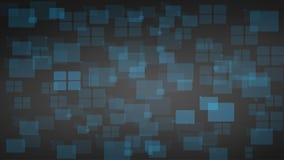 Formación técnica de las formas brillantes azules de los cuadrados Diseño de la tecnología del vector ilustración del vector