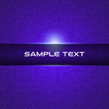 Formación técnica ligera azul Imagen de archivo