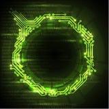 Formación técnica verde abstracta libre illustration