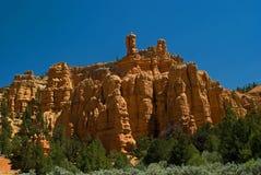 formaci czerwieni skała Utah Zdjęcie Royalty Free