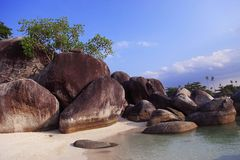 formaci granitu kamień Obraz Royalty Free