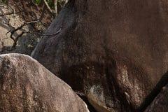 formaci granitu kamień Obrazy Stock
