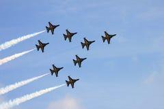 Formaci latanie Zdjęcie Stock