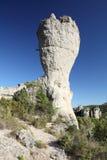 formaci wygryziona skała Zdjęcie Royalty Free