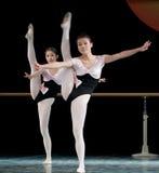 Formación básica de la danza Imagen de archivo libre de regalías