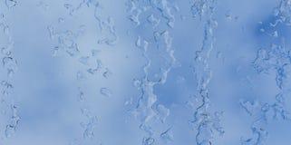 Formación de hielo Foto de archivo libre de regalías