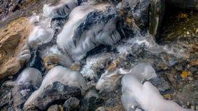 Formaciones de hielo Imagen de archivo libre de regalías