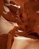 Formaciones de la barranca del antílope Imagen de archivo
