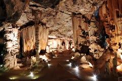 Formaciones de la caverna de la piedra caliza Imagen de archivo