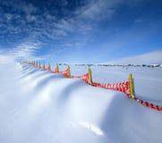 Formaciones de la nieve. Imagen de archivo