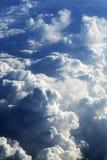 Formaciones de la nube Fotografía de archivo libre de regalías