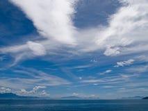 Formaciones de la nube Fotos de archivo