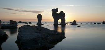 Formaciones de la piedra caliza Imagen de archivo libre de regalías