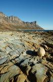 Formaciones de roca costeras Fotografía de archivo