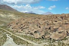 Formaciones de roca curiosas de Imagen de archivo libre de regalías