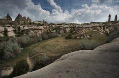 Formaciones de roca de Cappadocia Foto de archivo libre de regalías