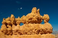 Formaciones de roca de la barranca de Bryce Imagen de archivo libre de regalías