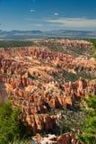 Formaciones de roca de la barranca de Bryce Foto de archivo