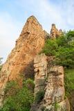 Formaciones de roca de Ritlite, Bulgaria Imágenes de archivo libres de regalías