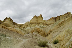 Formaciones de roca del Alcazar de Cerro en la Argentina Fotografía de archivo